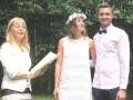 small intimate wedding, Sydney Marriage Celebrant