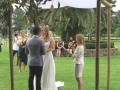 under the chuppa with Sydney celebrant, Sydney Marriage Celebrant