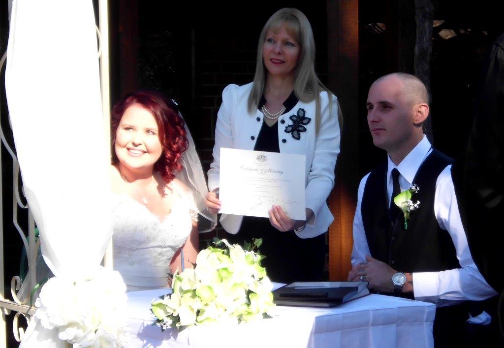 wedding celebrant camden