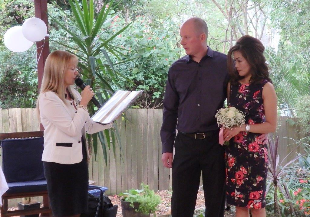 wedding ceremony celebrant Sydney