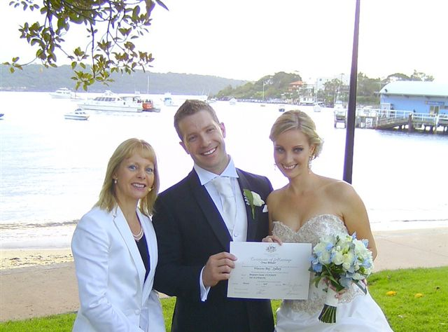 Marriage ceremony celebrant watson Bay