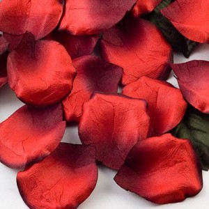 red petals for naming ceremony