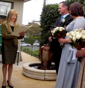 Wedding Ceremony Celebrant Castle Cove