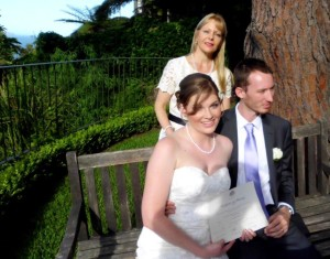 Wedding Celebrant Bible Garden Palm Beach