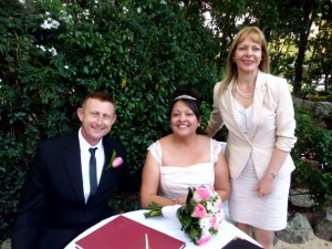 Marriage Celebrant Sydney Terry Hills